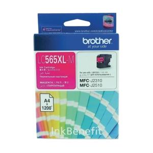 Brother LC- 565XLM Original Inkjet Cartridge - Magenta