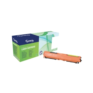Lyreco HP CF352A Compatible Laser Cartridge - Yellow
