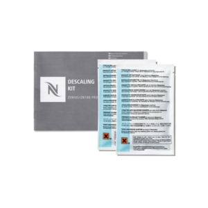 Nespresso Descaling Kit For Zenius/Gemini Machine - Pack of 2