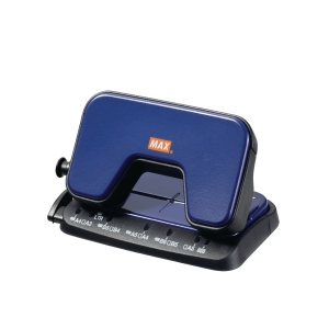 MAX DP-15T Hole Puncher Blue - 12 Sheets Capacity