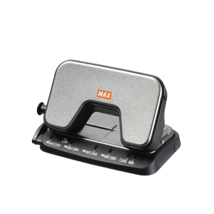 MAX DP-15T GREY 2 HOLE PUNCHER - 12 SHEETS CAPACITY