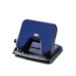 MAX DP-25T  BLUE 2 HOLE PUNCHER - 20 SHEETS CAPACITY