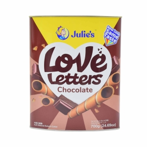 Julie s Love Letters Chocolate Biscuits 700g