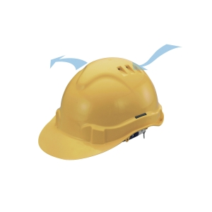 PROGUARD ADVANTAGE II YELLOW SAFETY HELMET