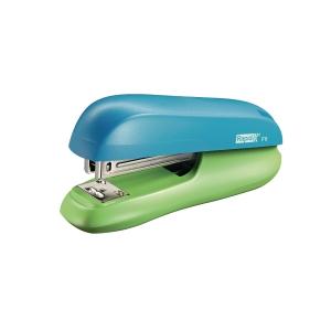 Rapid Funky Small Halfstrip Stapler Blue/Green - 20 Sheets Capacity