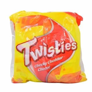Twisties Original Cheese Chips 15g - Pack of 8