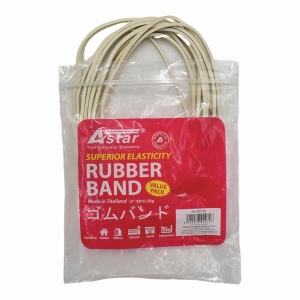 Astar White Rubber Band 127mm - 50g