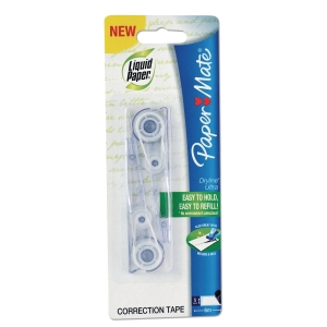 PAPERMATE DRYLINE ULTRA CORRECTION TAPE REFILL - PACK OF 2