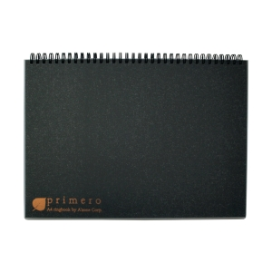 A ZONE PRIMERO RULED BLACK A4 RINGBOOK 70G - 180 SHEETS