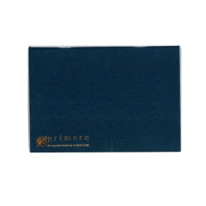 A ZONE PRIMERO RULED NAVY BLUE A5 EXERCISE BOOK 70G - 124 SHEETS