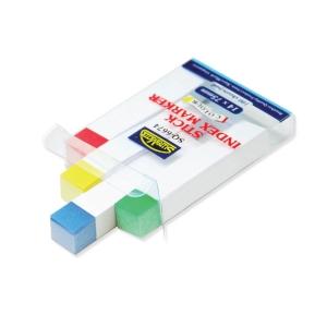 Suremark Stick Index Marker 14X75mm - 25 Sheets x 4 Colours