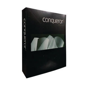 CONQUEROR TEXTURE LADE BRILLANT WHITE PAPER 100G - REAM OF 500 SHEETS
