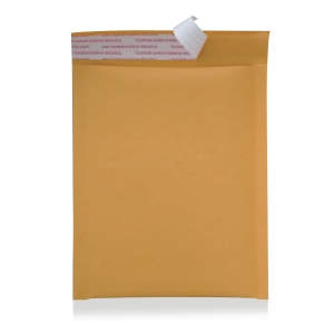 WINPAQ PEEL & SEEL GOLD BUBBLE ENVELOPE 10  X 13  - PACK OF 5