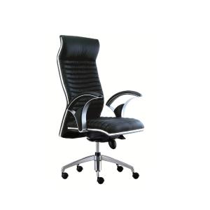 VIO CL191 PRESIDENTIAL HALF LEATHER HIGH BACK CHAIR
