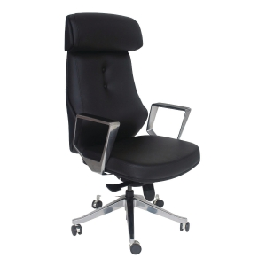 VIO CL171 MANAGERIAL HALF LEATHER MEDIUM BACK CHAIR