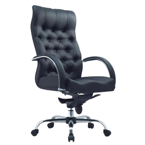 TESSA II CL8077 MANAGERIAL PU LEATHER MEDIUM BACK CHAIR