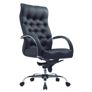TESSA II CL8077 MANAGERIAL HALF LEATHER MEDIUM BACK CHAIR
