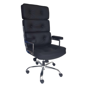 VIO CL161 EXECUTIVE HALF LEATHER LOW BACK CHAIR
