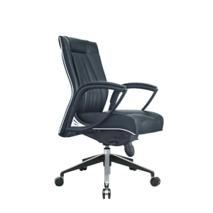TESSA II CL8066 EXECUTIVE HALF LEATHER LOW BACK CHAIR