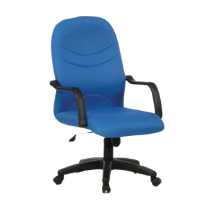 BLUE BL2000MB FABRIC MEDIUM BACK CHAIR