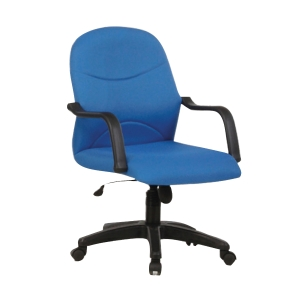 BLUE BL2002 FABRIC LOW BACK CHAIR