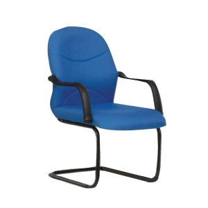 BLUE BL2003V FABRIC VISITOR CHAIR