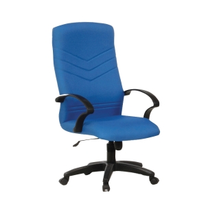 BLUE BL2100HB FABRIC HIGH BACK CHAIR