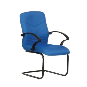 BLUE BL2103V FABRIC VISITOR CHAIR