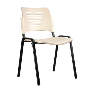 IVORY STACKABLE TRAINING CHAIR