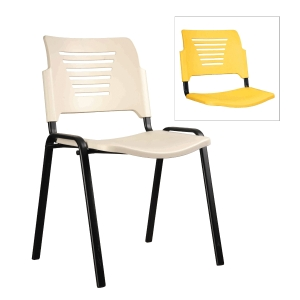 YELLOW STACKABLE TRAINING CHAIR