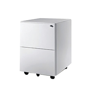Artirch Steel 2 Drawers Mobile Pedestal