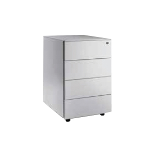 Artrich Steel 4 Drawers Mobile Pedestal