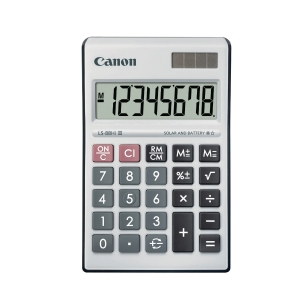CANON LS-88HI WHITE DESKTOP CALCULATOR 8 DIGIT