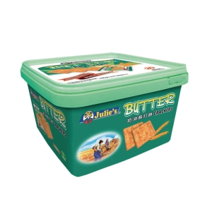 Julie s Butter Crackers - Box of 18