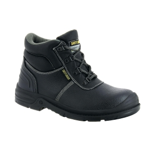 Safety Jogger Bestboy 2 S3 High Cut Safety Shoes Black - Size 39