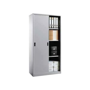 Artrich Half & Full Height Sliding Door Steel Cupboard 1830 x 915 x 457mm