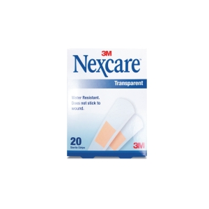 NEXCARE TRANSPARENT STRIPS PACK OF 20