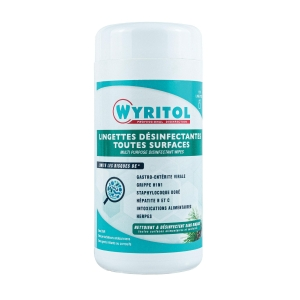 WYRITOL DISINFECTANT WIPES 120SHT