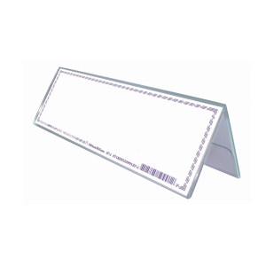 ACRYLIC NAME HOLDER 180 X 65MM