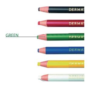 RINGO DERMATOGRAPH GREEN COLOR PENCIL 1.0MM LINE WIDTH