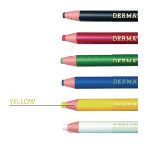 Ringo Dermatograph Yellow Colour Pencil 1.0mm Line Width