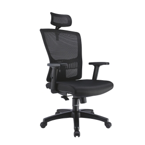 ARTRICH HUGO 2 MESH HIGH BACK BLACK CHAIR