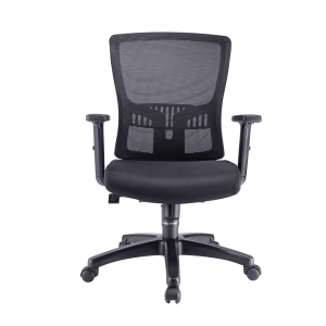 ARTRICH HUGO 2 MESH MEDIUM BACK BLACK CHAIR