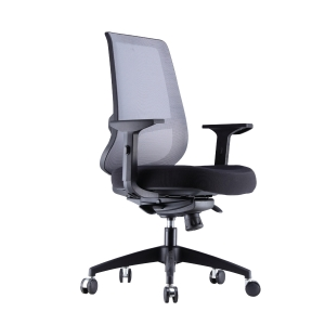 ARTRICH RICO 1 MEDIUM BACK MESH BLACK CHAIR