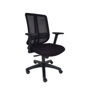 ARTRICH MILLER 2 M/B MESH OFFICE CHAIRS BLACK