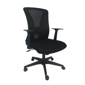 ARTRICH 822 MEDIUM BACK MESH BLACK CHAIR