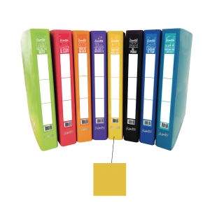 BANTEX M SERIES RING YELLOW A4+ BINDER 25MM