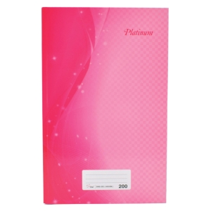 Campap Assorted Colour F4 Notebook 200 Pages