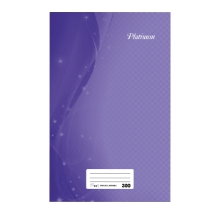Campap Assorted Colour F4 Notebook 300 Pages