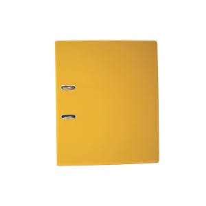 EMI A4 Lever Arch File 875 Yellow 3 Inches